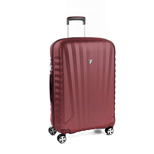 Roncato Grosser Spinner (Ml) Hartschalen UNO Zsl Premium 2.0 - cm 76 x 50.5 x 28 Fassungsvermögen 98 L Leicht Organisierter Innenraum TSA-Schloss 10 Jahre Garantie