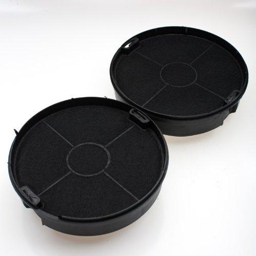 daniplus© Aktivkohlefilter, Kohlefilter Set passend für Whirlpool Bauknecht Elica AMC023, 481248048212, 480122102341