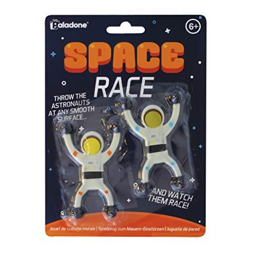 Paladone PP5009 Space Race | Badespiel für 2 Spieler | umweltfreundlich BDP, weiß