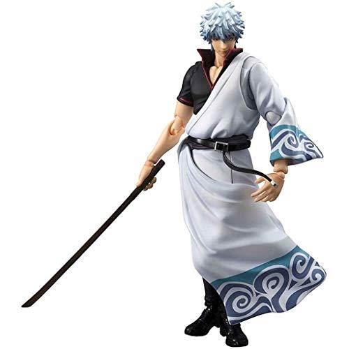 Sakata Gintoki Anime Action Figure Gintama Personaje Modelo Coleccionable Estatua Toys Figuras de PVC Adornos de escritorio