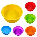 Dolloress 1x Silicone Cup Cake Mold Baking Bread Mold for Bread Making Baking
