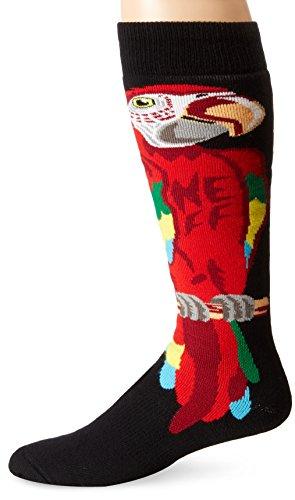 Neff Parrot Snow Socken - red