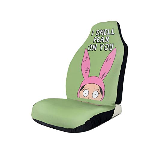 MarieQuiles Bob's Burgers Car Seat Covers Automotive Vehicle Cushion Cover for Cars SUV Pick-up Truck Universal Fit Set for Auto Interior Accessories 1 PCS