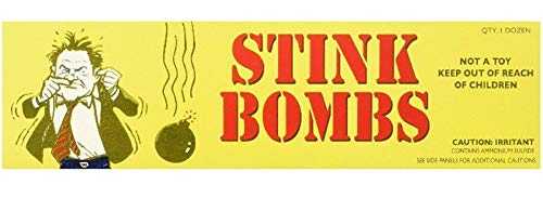 36 Stink Bombs - Funny, Stinky and Smelly Novelty - by Elizabeth Peacock 1991