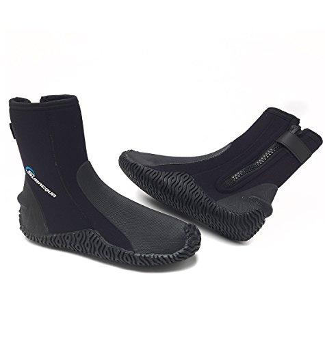 Subacqua Comfort 3 Escarpines, Unisex Adulto, Black, XL (44/45)