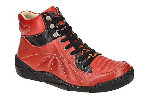 Eject Damen Stiefeletten - sportliche Stiefelette Street 20235 Rot, EU 40