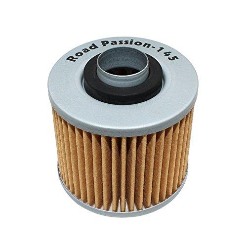 Road Passion Filtre à l'huile pour YAMAHA XVS125 DRAGSTAR 00-04 XV125S VIRAGO 97-01 XV250 ROUTE 66 88-90 95-97 XV250 88-95 XV250S VIRAGO 95-06