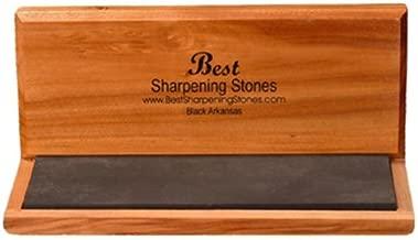 Arkansas Knife Sharpening Stone - Black Surgical 6 x 2 inch