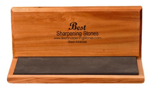 Arkansas Sharpening Stone - Black Surgical 8
