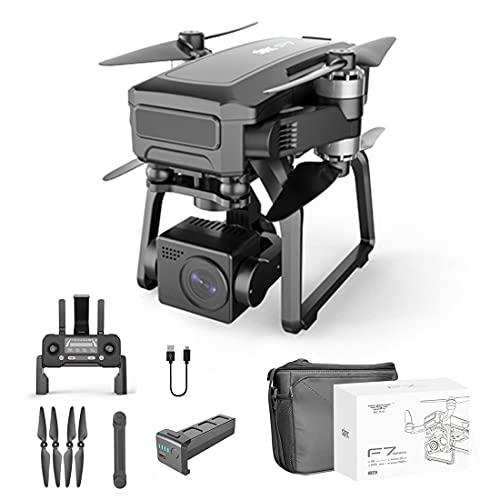 ITOP Drone di trasmissione video HD SJRC F7 PRO GPS 5G WiFi 3KM 3 assi Gimbal meccanico 4K senza spazzole Quadricottero con custodia portatile - Versione singola batteria