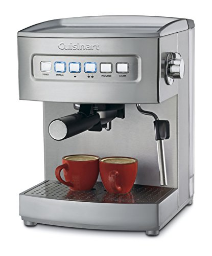 Image of Cuisinart EM-200 Programmable 15-Bar Espresso Maker, Stainless Steel: Bestviewsreviews