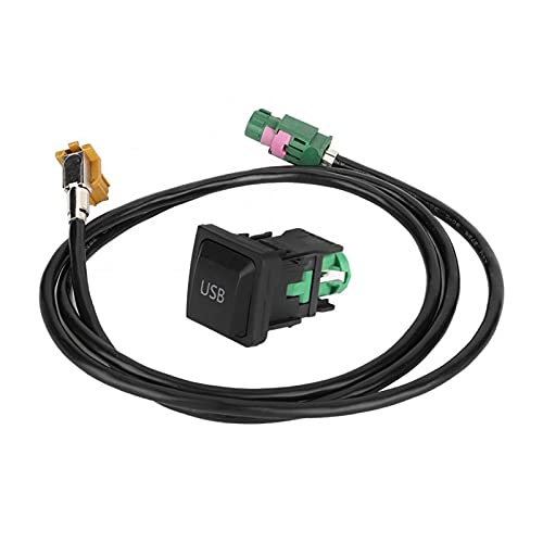 XIAO YANG 5V 28AWG / 1P Coche CD Conversor estéreo Auxiliar Línea de Enchufe del Interruptor de Cable de Audio con USB Adaptador Accesorios para automóviles