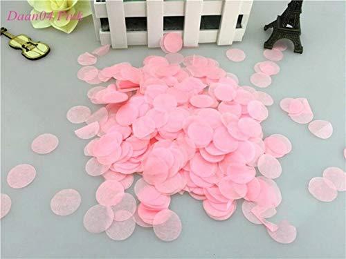 AOM 2 cm 10 g/Bag (1000 stuks) Eenhoorn/Rose Gold gemengde ronde confetti cirkels babyparty bruiloft verjaardag feestdecoratie roze Daan04