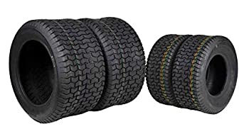 4 New MASSFX Lawn Mower Tires 16x6.5-8 22x9.5-12 4 PLY Four Pack