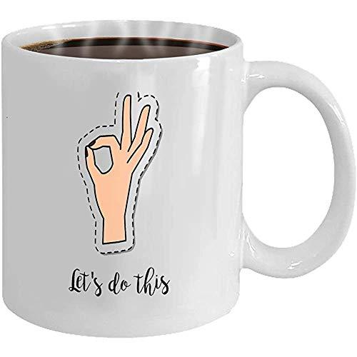 El elemento parche moda taza café cita permite hacer