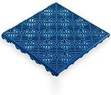 Antihumedades Pack de 200 losetas ventiladas Suelos de terraza, Piscinas, trasteros (30x30cm) - Color Azul