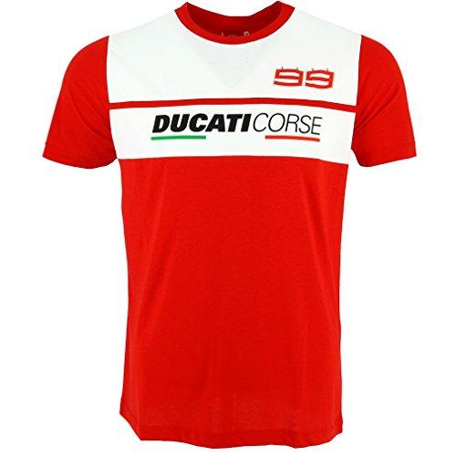 Pritelli 1836014/L T-Shirt Uomo Ducati Corse Jorge Lorenzo 99, Taglia L