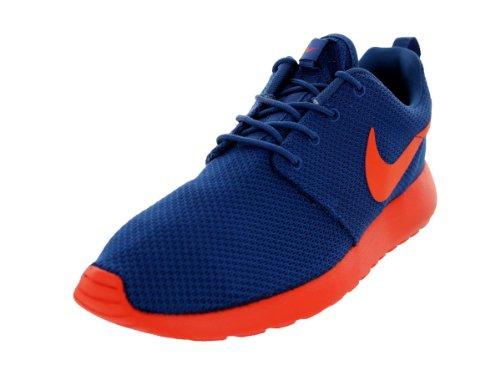 Nike Roshe Run Dark Royal Blue Orange (511881-483) (Mens US10.5 28.5CM EUR 44.5)