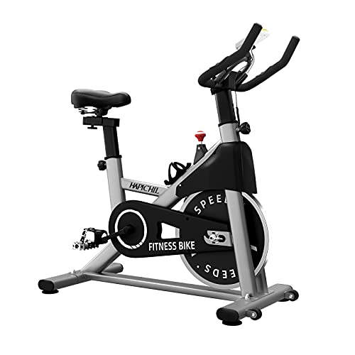 HAPICHIL Exercise Bikes Magnetic Resistance Indoor Cycling Stationary bike with 35lbs Flywheel, LCD Monitor, Tablet Holder & Comfortable Seat Cushion for Home Workout Cardio Training Bike