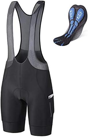BALEAF Men s Cycling Bib Shorts 4D Padded Road Bike Shorts with Pockets Biking Tights Breathable product image