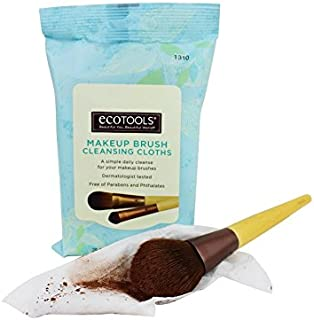 (3 Pack) EcoTools Makeup Brush Cleansing Cloths