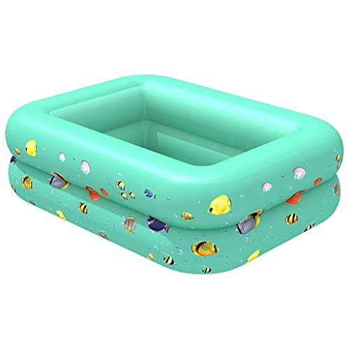 Centro de natación piscina inflable familiar Bасссейн для взрослых niños piscina inflable bañera inflable niños verano agua diversión jugar piscina piscina piscina piscina para niños (color: verde)