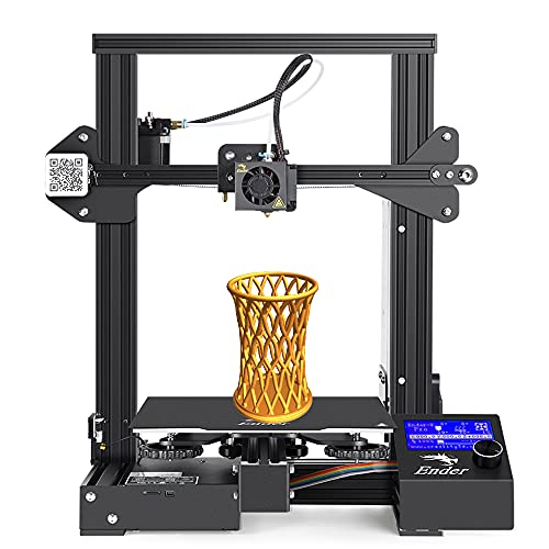 DBKJ Official Creality Ender 3 Pro 3D FDM 3D Printer With Removable Build Surface Plate And UL Certified Power Supply, 220x220x250mm