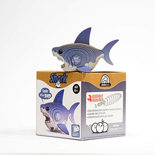 Dodoland 61125 Eugy Shark - Puzzle de tiburón
