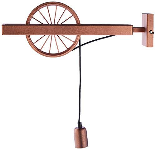 Homemania HOMAX_4322 Lámpara colgante Pav cobre metal 18 x 10 x 45 cm
