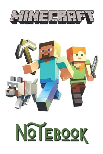 Minecraft Notebook: Notebook for Minecraft Lover and Minecrafters, For School Or Personal Use