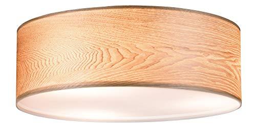 Paulmann 79650 Neordic WallCeiling Liska Deckenleuchte max. 3x20W Deckenlampe für E27 Lampen 230V Holz/Metall ohne Leuchtmittel