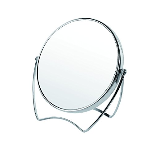 Gerson Miroir Chromé Grossissant x 10 à Poser Diamètre 15 cm