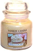 Yankee Candle Vanilla Cupcake Medium Jar Candle, Food & Spice Scent