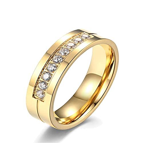 Anillo Titanio Mujer  marca Ahloe Jewelry