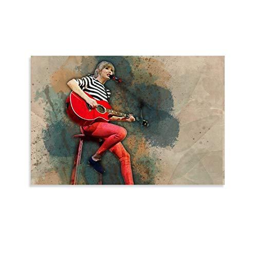 LOPOA Taylor Swift - Poster artistico da parete, 50 x 75 cm