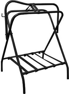 Showman Western Or English Black Folding Saddle Rack