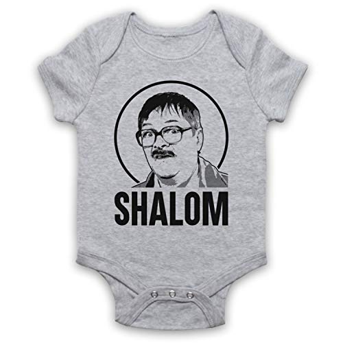 My Icon Art & Clothing Friday Night Jim Shalom Bébé Barboteuse Bodys, Gris, 6-12 Mois