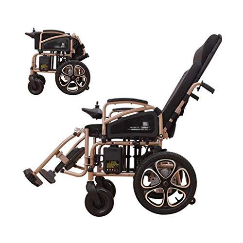 LBWT Lichtgewicht elektrische rolstoel, intelligent automatisch van Barriere Architettoniken, multifunctioneel, opvouwbaar, klein en draagbaar, ideaal als cadeau
