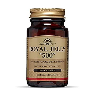 "Solgar, Royal Jelly 500"", 60 Softgels"