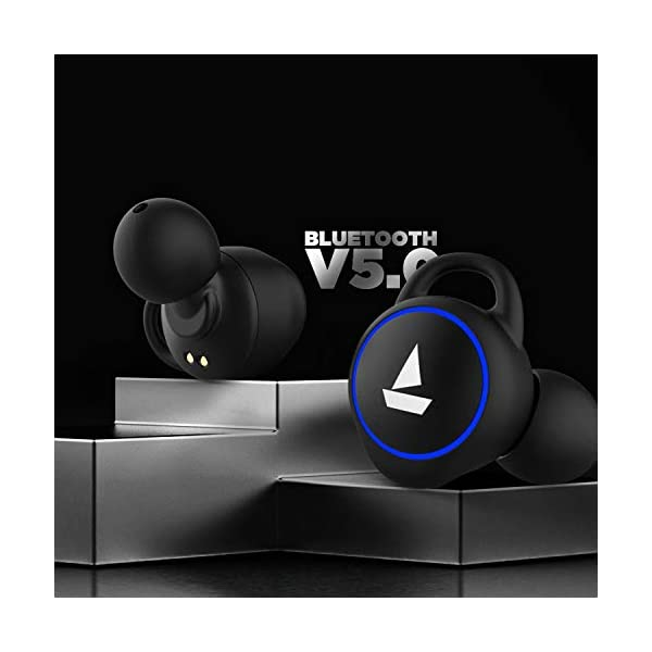 boAt Airdopes 311v2 Truly Wireless Bluetooth in Ear Earbuds with Mic (Pink) 5 41gL782PtyL
