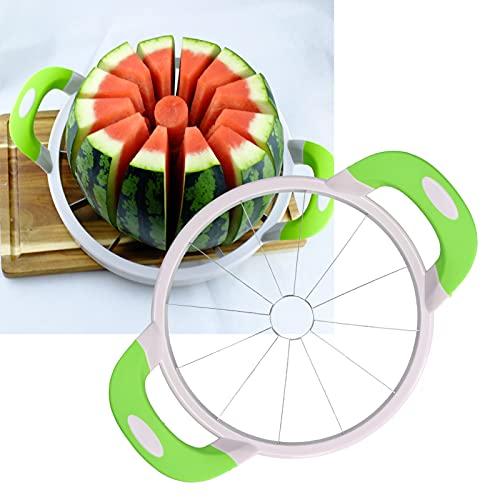 SONK Cortador de sandía, Herramienta Segura y rápida para Cortar Frutas, Segura para la mayoría de Las Personas para Viajes en casa, Camping, Picnic(Small Color Box)
