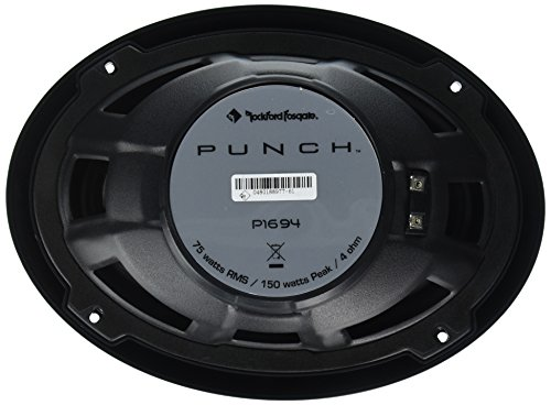 "Rockford Fosgate P1694 Punch 6""x9"" 4-Way Full Range Speaker (Pair)"