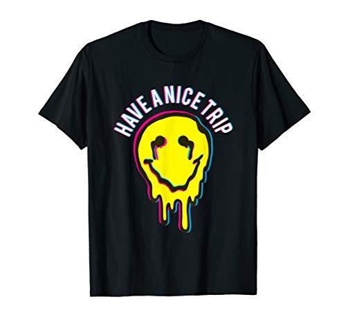 Lustiges Have a nice Trip Drogen Molly MDMA LSD T-Shirt