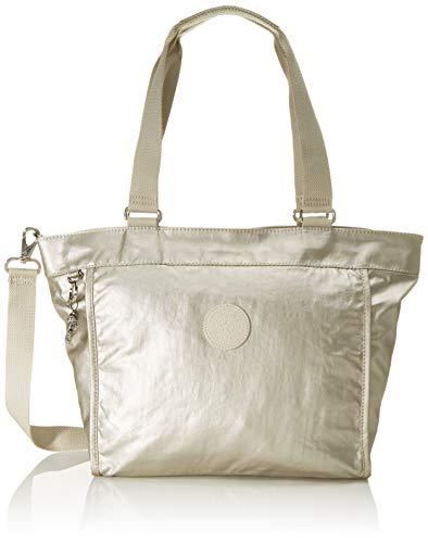 Kipling New Shopper S, Borsa Donna, Oro (Cloud Metal), 42x27x13 centimeters (B x H x T)
