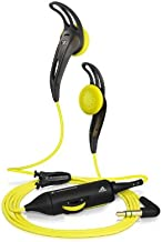 Sennheiser MX 680 Sports Earbud Headphone with Volume control & Earfin Clips (Discontinued by Manufacturer)