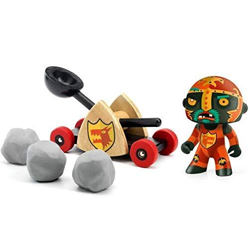 Djeco - DJ06731 - Figurine - Baldy avec Catapulte