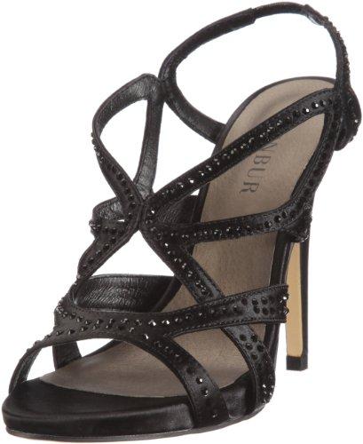 Menbur Damen Cercis Fashion-Sandalen, Schwarz (Schwarz 01), 38 EU