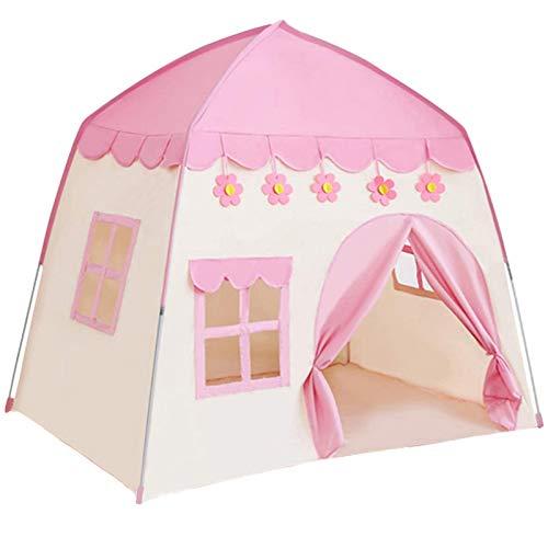 TTLOJ Kids Play Tent for Girls Boys 420D Oxford Fabric Princess Playhouse Pink Castle Play Tent...