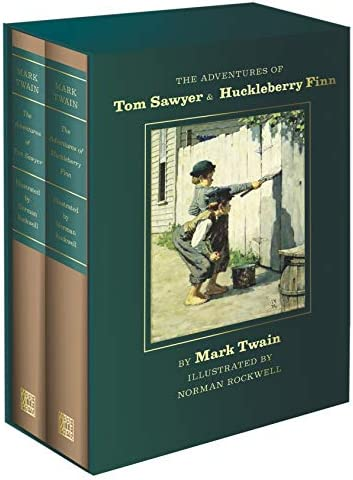 The Adventures of Tom Sawyer and Huckleberry Finn Norman Rockwell Collector s Edition product image