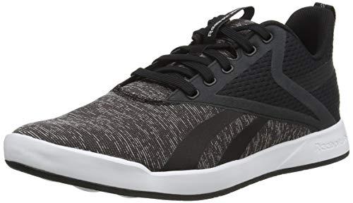 Reebok Ever Road DMX 3.0, Chaussures de Randonnée Basses Homme, Noir/Blanc/Noir, 43 EU